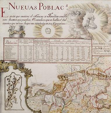 NUEVAS POBLACIONES. R.ACADEMIA HISTORIA.