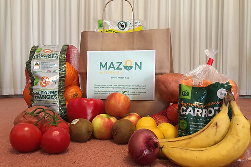 Virtual MazonBag filled with fresh produce