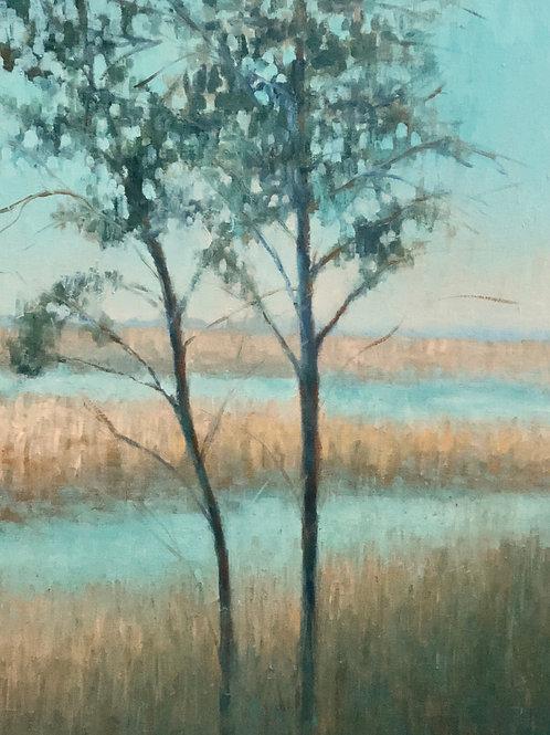 Teal Salt Marsh