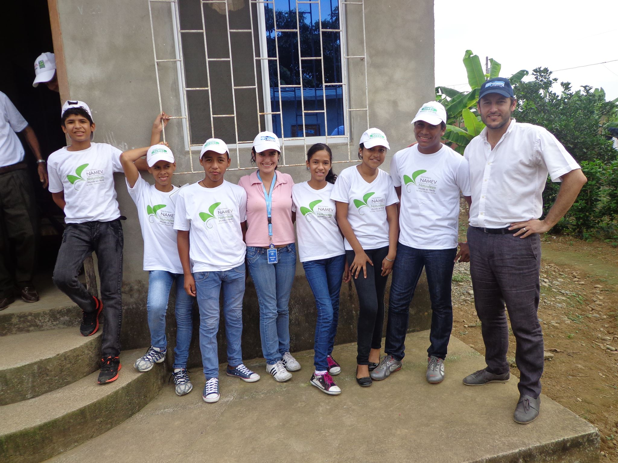 Youth clubs in Ecuador