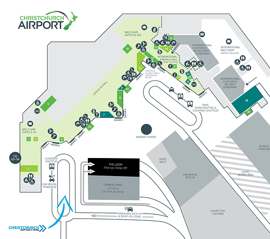 Christchurch Airport Terminal