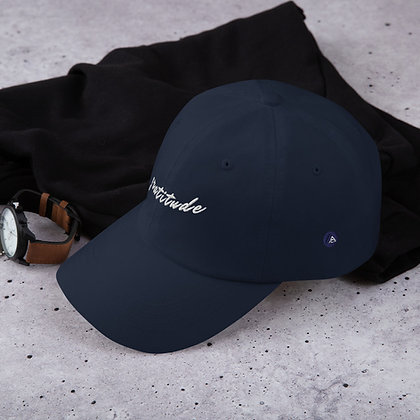 "Realizations   ""Gratitude"" Dad Hat / Adjustable Back [Men & Women]"