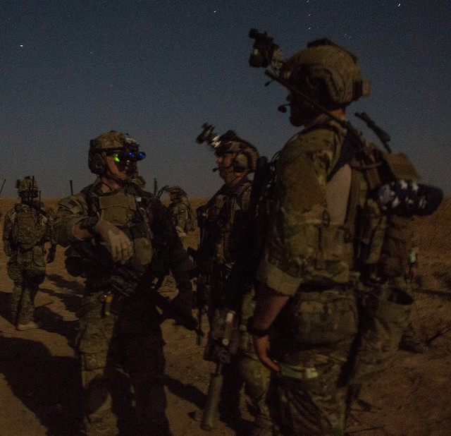 75th Rangers conduct a direct action raid
