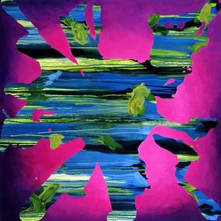 Untitled on Purple 2