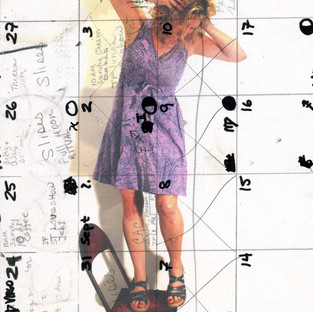 Looking Down - calendar girl