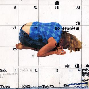 Pray - calendar girl