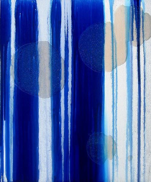 Free Falling Blue 1