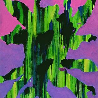 Untitled on Purple 1