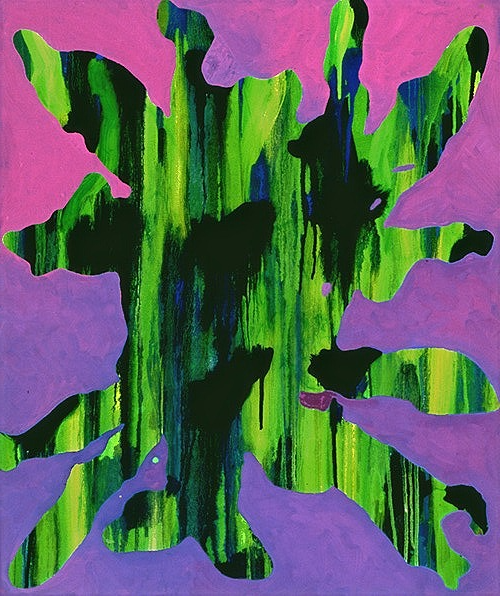 Untitled on Purple 1