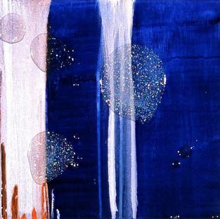 Untitled on Blue 2