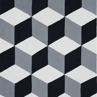 Ruled Boxes in Black, White and Gray