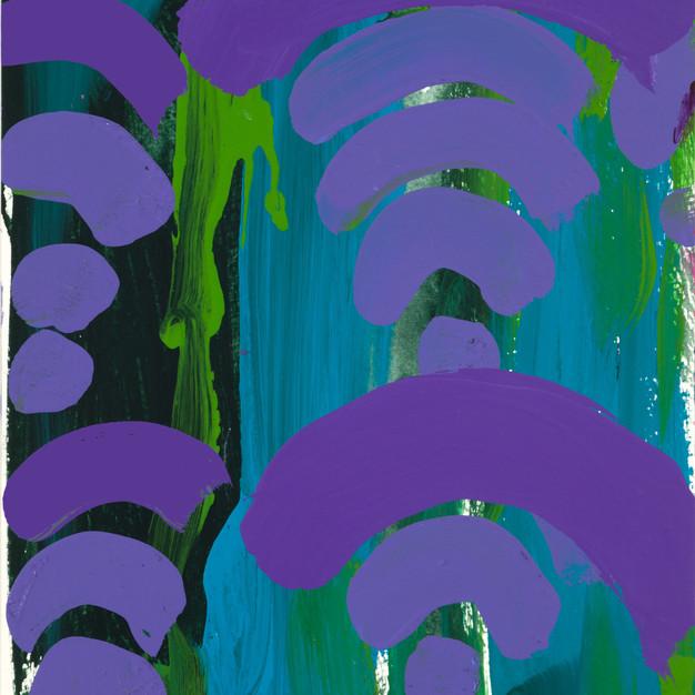 Purple Waves 2
