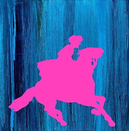 Majenta Horse