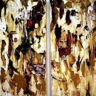 Sadie Painting - diptych