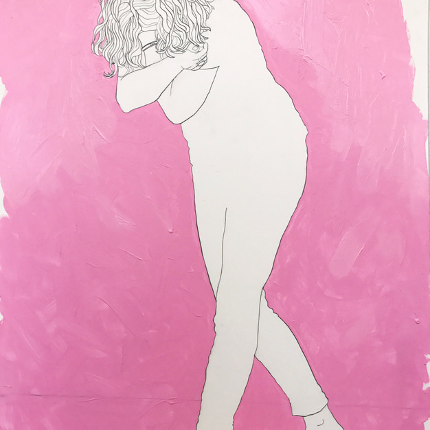 Untitled on Pink