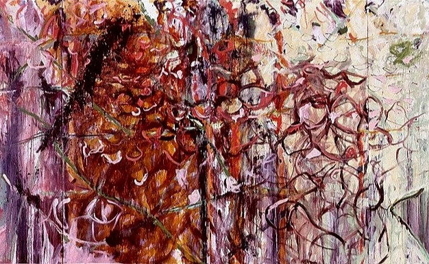 Phosphorescence - 4 panel painting