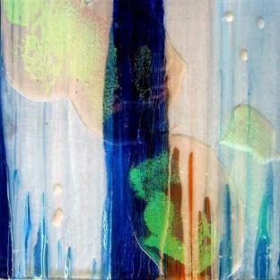 Untitled on Blue