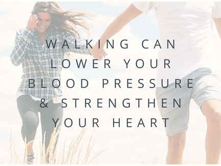 Walking Can Help Lower Your Blood Pressure