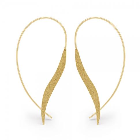 Rose Gold Ear Hoops