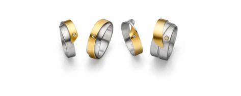 Diamond Ribbon Rings
