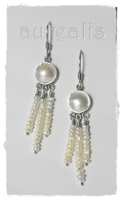 Aurealis Mabe Pearl Earrings