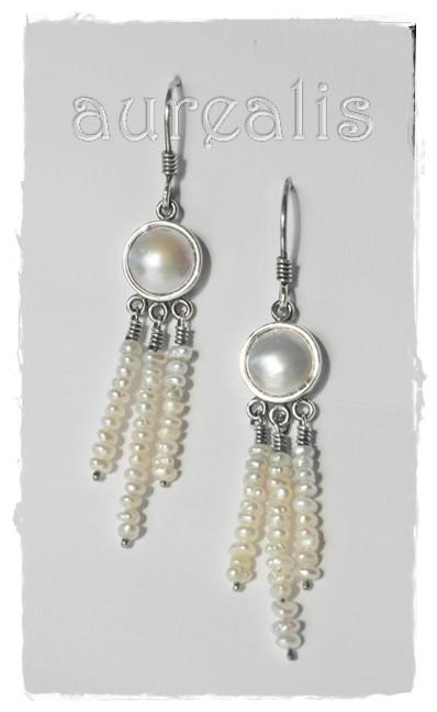 Aurealis Mabe Pearl Earrings