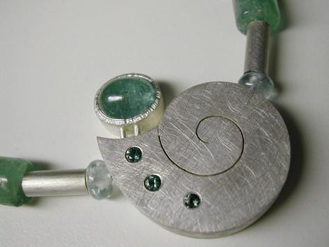 Aurealis Green Tourmaline Necklace