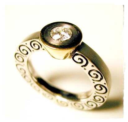 Aurealis Diamond Ring