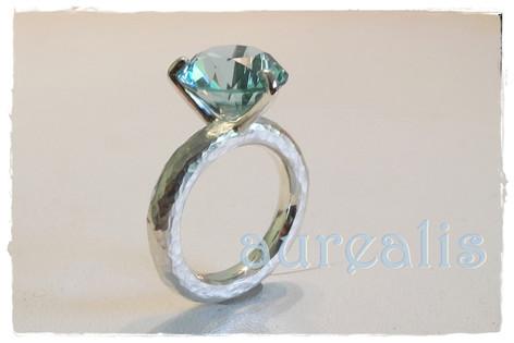 Aurealis Topaz Ring