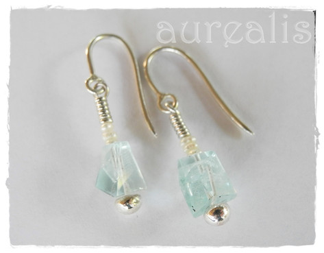 Aurealis Aquamarine Earrings