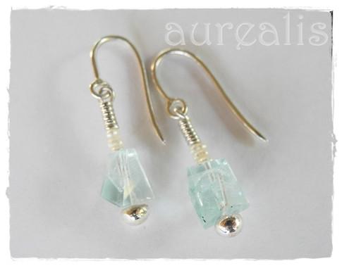 Aurealis Aquamarine Earrings
