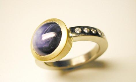 Aurealis Star Sapphire Ring