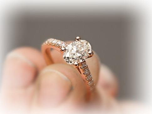 Rose gold diamond dream