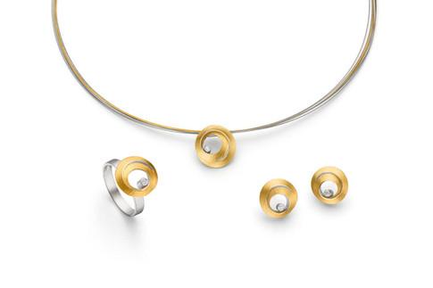 Gold & Diamond Circle