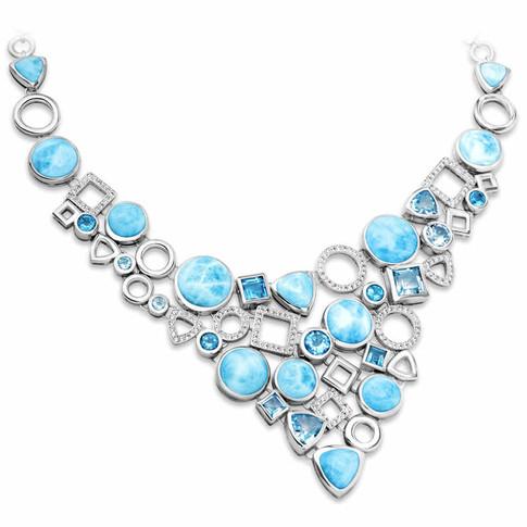 Larimar Alexandria Collection Necklace
