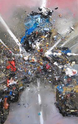Walmart Study 8 Oil on Panel 12x8in  2012