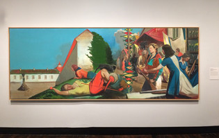 Neo Rauch, Waiting for the Barbarians