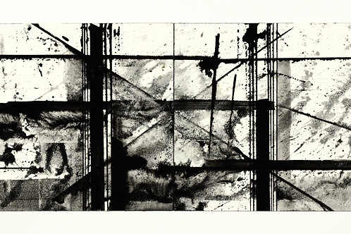 Black and White Ink Study #4
