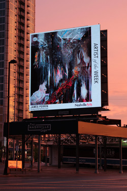 Nashville Sign. Artist of the Week. West End and Broadway. Removing the Demon from the Rock