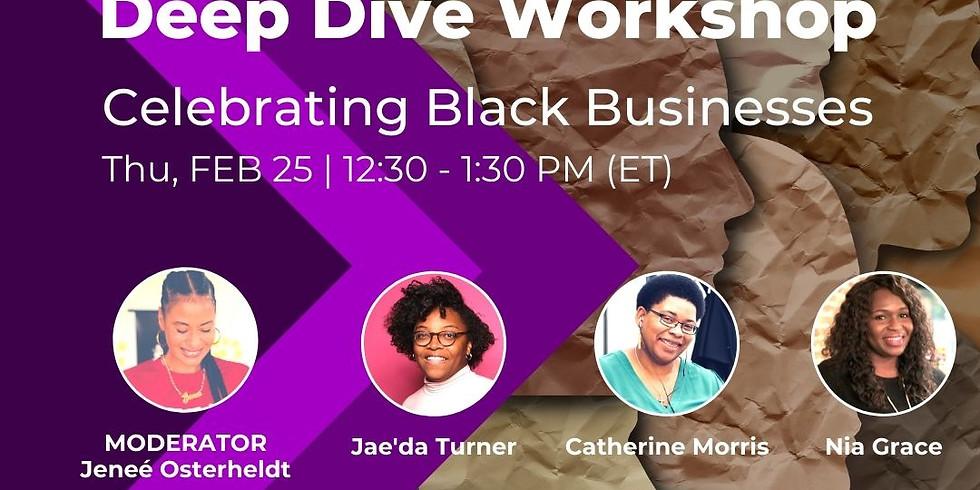 Roxbury Innovation Center Black History Month Panel: Celebrating Black-Owned Businesses