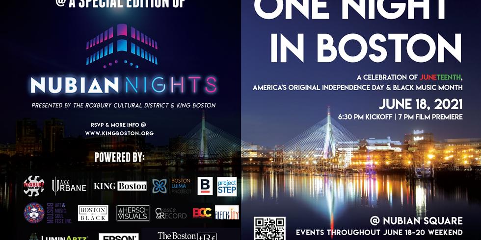 "King Boston presents ""One Night in Boston"