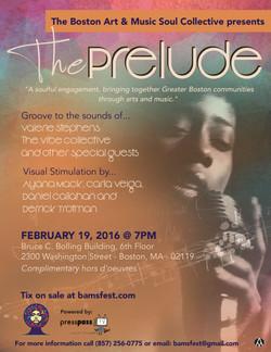 Flier - The Prelude 2016