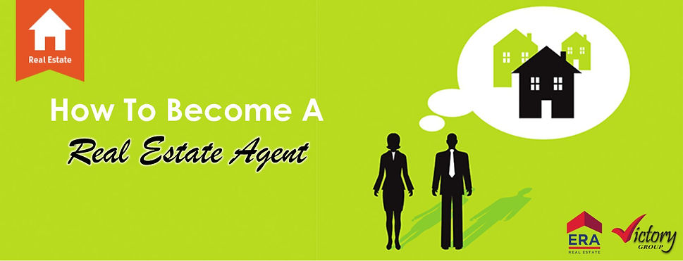How to become a real estae agent?