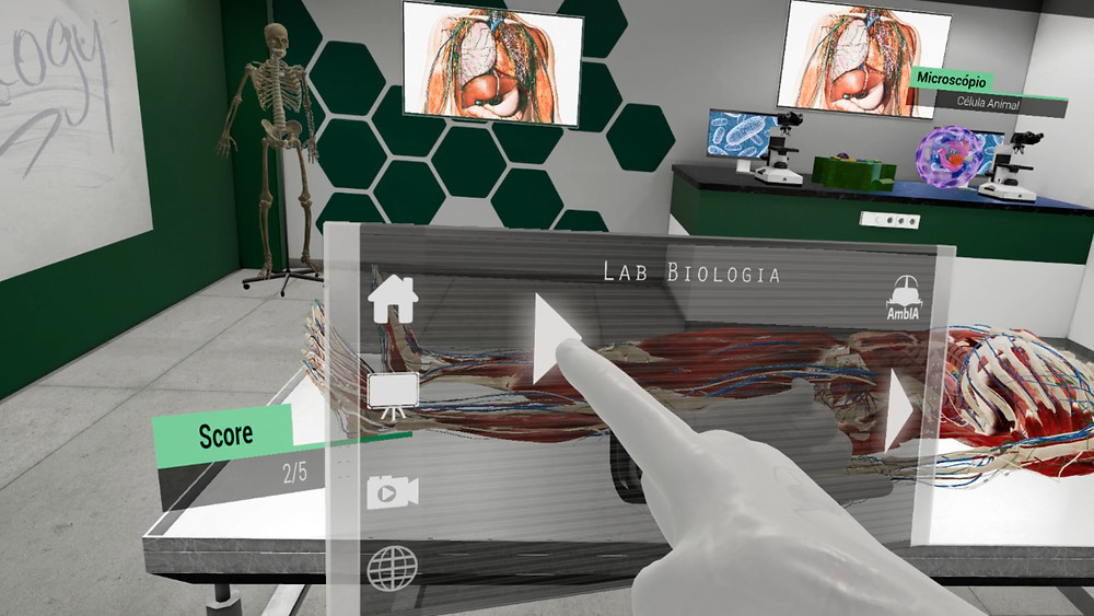 biology;laboratory;lab;pratical learning;immersive learning;VR;AR;education