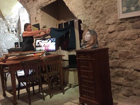 L'avant-goût N°7  bis - Annexe - Démonstration de l'atelier de tissage de Françoise GORENFLO