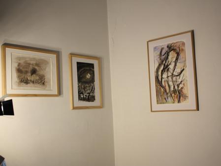 Une petite exposition intermezzo s'ouvre le 8  septembre à 18 H a côté de l'exposition en co