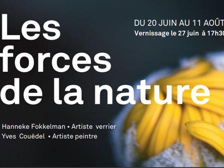 Les forces de la nature, deuxième exposition de la saison!