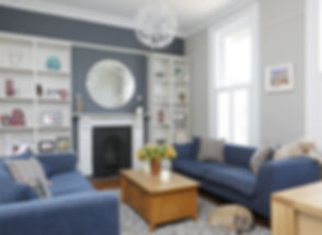 Regency living room
