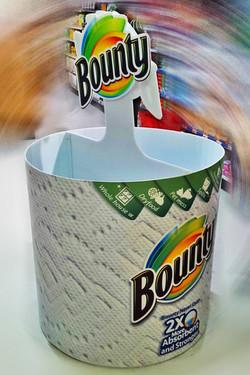 BOUNTY ROUND DUMP BIN