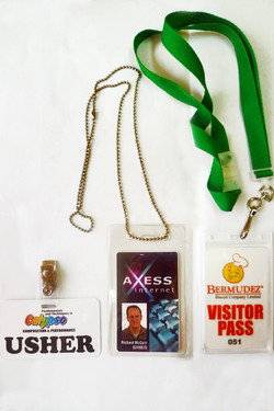 ID BADGE & VISITOR PASS
